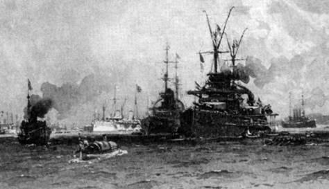 В составе флота