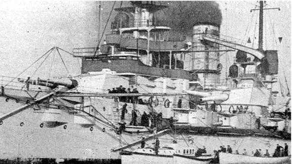 """Линейные корабли """"Вестфален"""" (два фото вверху), и """"Позен"""" (внизу)"""