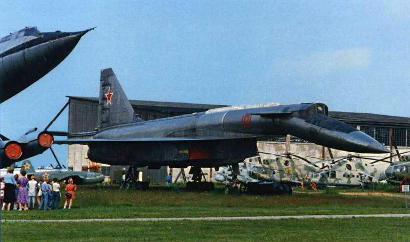 Самолет Т-4 в музее Монино. Лето 1995 г. (Ильдар Бедретдинов)