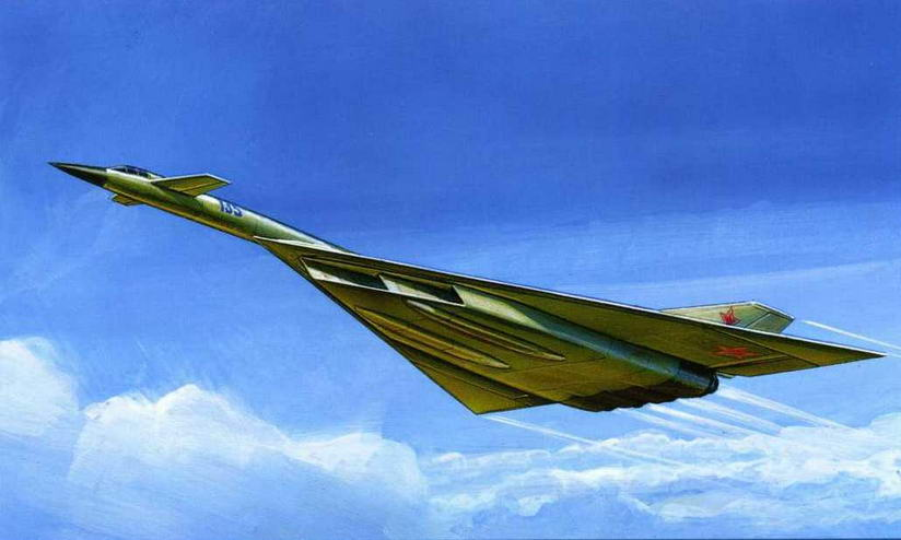 """Один из вариантов компоновки самолета """"135"""". Рисунок сделан по схеме, представленной на конкурс. (Андрей Жирнов)"""