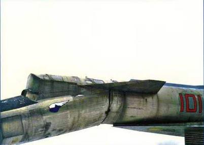 Переднее горизонтальное оперение самолета. (Ильдар Бедретдинов)