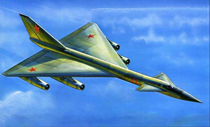 Рисунок самолета Як-35, показанный на первом НТСе А.С. Яковлевым в 1962 г. (Андрей Жирнов)