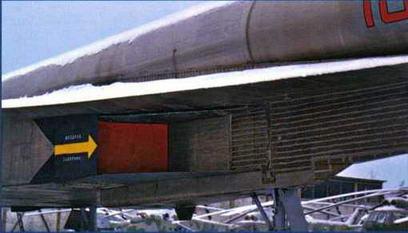 """Правый воздухозаборник самолета """"101"""". (Ильдар Бедретдинов)"""