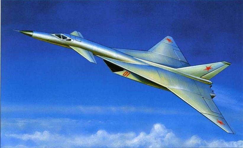 Рисунок компоновки самолета Т-4, представленной на конкурс (№ 6 по схеме на стр. 18). (Андрей Жирнов)