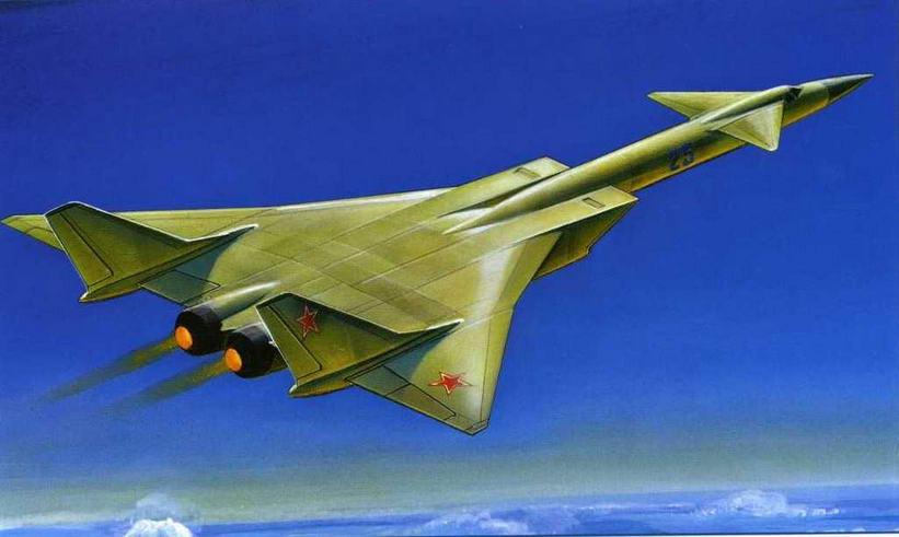 """Проект самолета """"125"""", показанный на втором НТСе А Н. Туполевым в 1961 г. (Андрей Жирнов)"""
