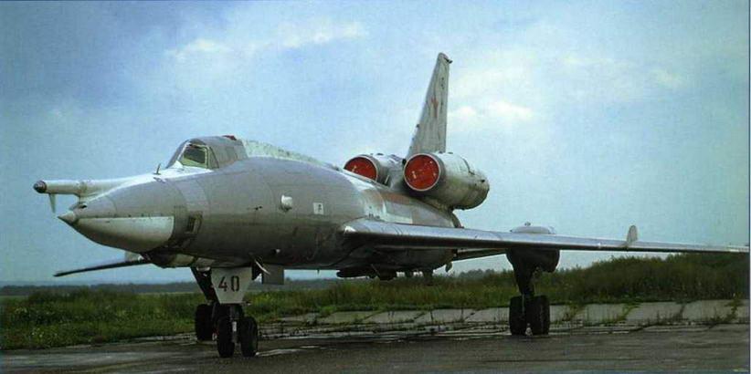 Бомбардировщик Ту-22. (Сергей Скрынников)