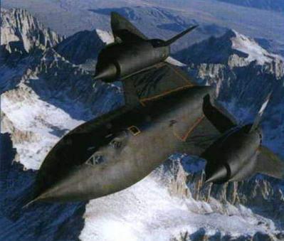 Американский разведчик Lockheed SR-71. (Из архива Николая Гордюкова)