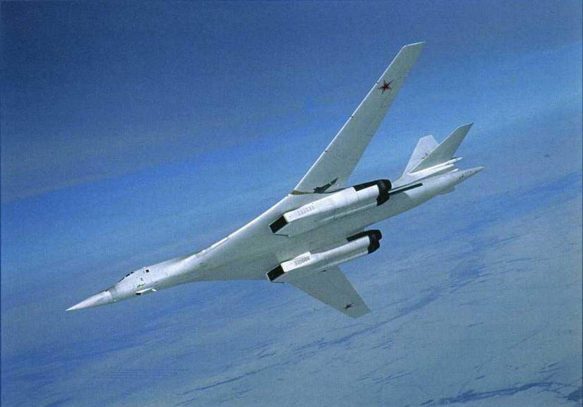 Самолет Ту-160 (Сергей Скрынников)