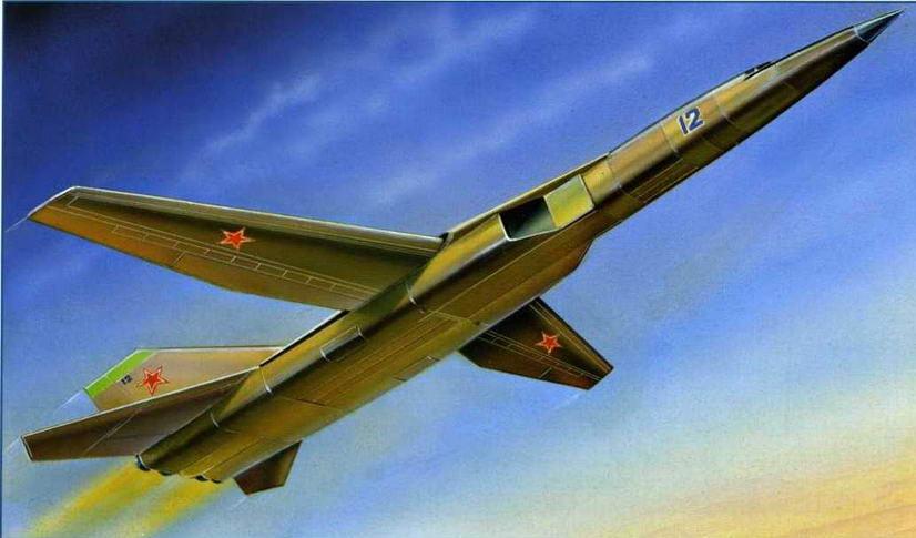 Самолет М-20 в представлении нашего художника. (Михаил Дмитриев)