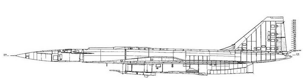 Самолет Т-4 (изд. 101) Вид слева