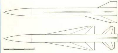 Развитие компоновочных схем самолета Т-4 с 1960 по 1966 гг. Схематическое изображение (Николай Гордюков)