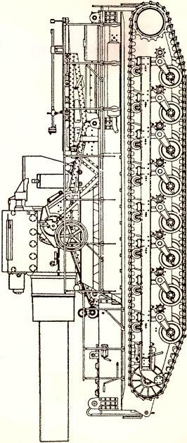 Рис.48. 540-мм вариант мортиры Geraet 041 «Karl».