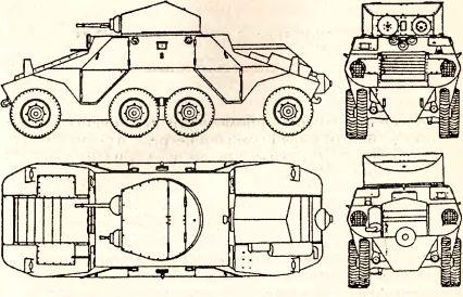 Рис.64. Австрийский бронеавтомобиль ADGZ.