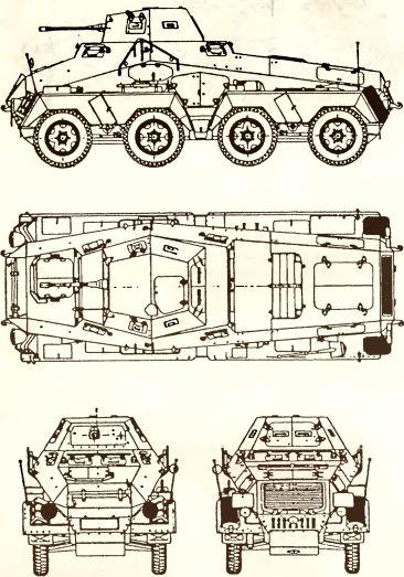 Рис.65. Тяжелый бронеавтомобиль Sd.Kfz. 231 (8-Rad).