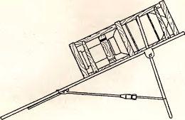 Рис.78. 280/320-мм тяжелая метательная установка sWG 41.