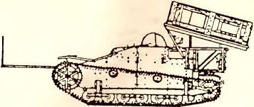 Рис.80. Пусковая установка 280/320-мм ракет на базе UE 630 (f).