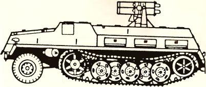 Рис.84. Пусковая установка на базе тяжелого тягача sWS.