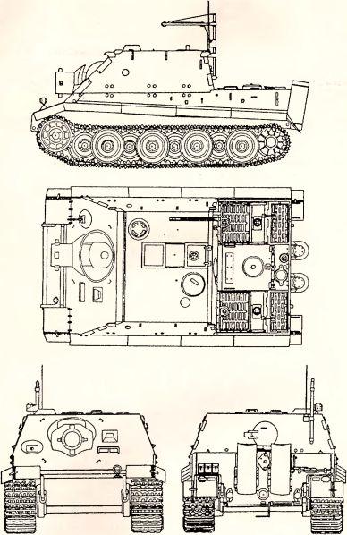 Рис.86. Самоходная мортира «Sturmtiger».