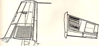 Рис.152. Подвеска ракет R4/M на Me 262А-1Ь.