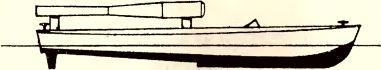 Рис.186. Взрывающийся катер «Tornado» (эскиз).