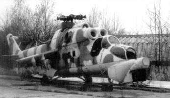 Летающая лаборатория – Ми-24, на которой отрабатывался прицельно-пилотажно-навигационный комплекс Ми-28