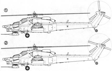 Первый опытный образец Ми-28 (бортовой № 012):