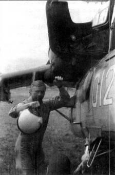 Летчик-испытатель В.В.Юдин