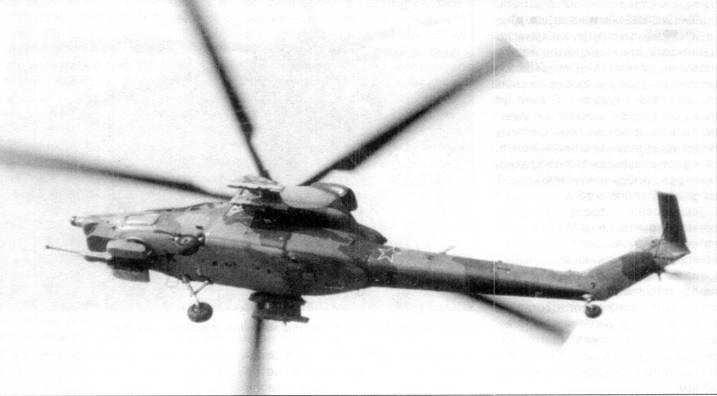 Первый опытный образец Ми-28 в полете