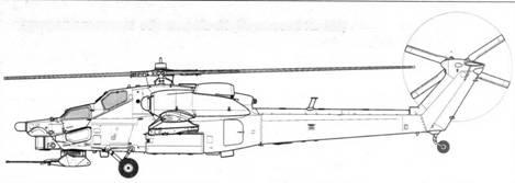 Второй опытный образец Ми-28 (бортовой № 022)