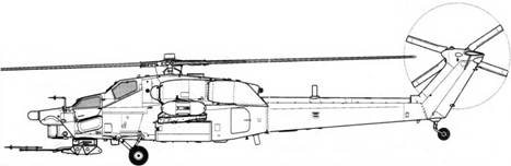 Второй экземпляр Ми-28А (бортовой № 042)