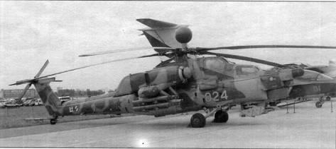 Первый опытный образец Ми-28Н (ОП-1) на авиасалоне МАКС-2005