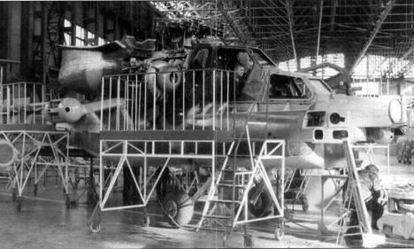 Сборка первого предсерийного Ми-28Н на заводе в Ростове-на-Дону