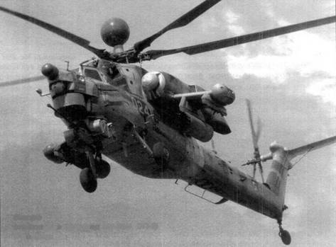 Второй опытный экземпляр Ми-28Н (ОП-2) в полете