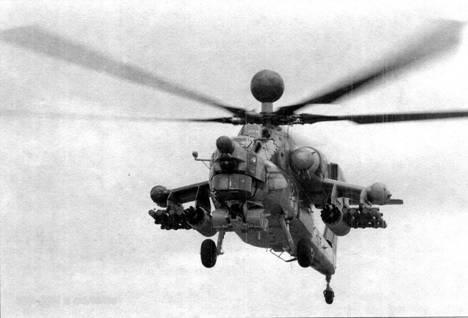Ми-28Н в полете