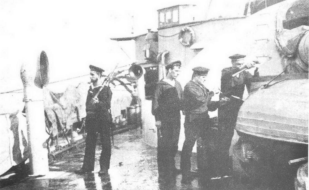 Германская практическая эскадра: корабельные работы