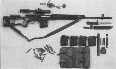 Самозарядная снайперская винтовка СВД