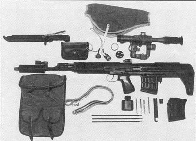 7,62-мм самозарядная снайперская винтовка СБУ (ОЦ-ОЗ)