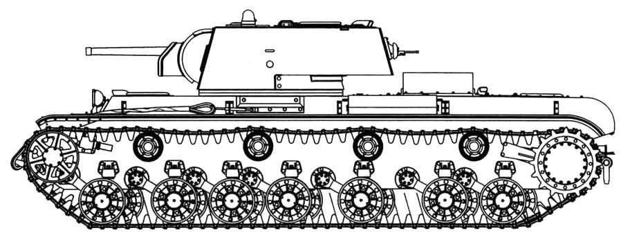 КВ-3 с башней КВ-1