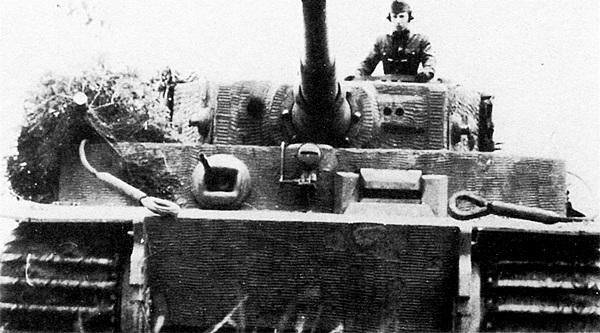 Один из нескольких «тигров», переданных немцами венгерской армии.