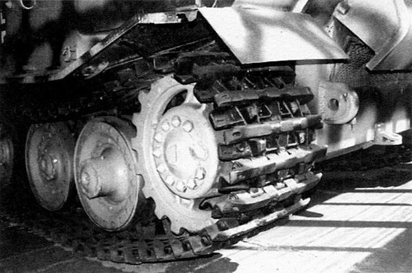 Ведущее колесо САУ «Фердинанд».