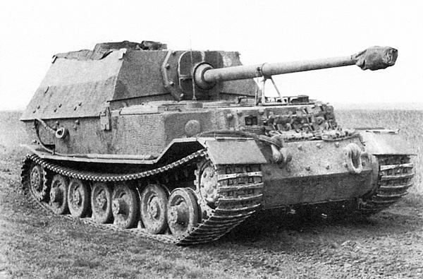 Тяжёлый истребитель танков «Элефант».