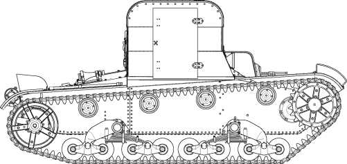 Транспортер ТР-26 в варианте подвозчика боеприпасов.