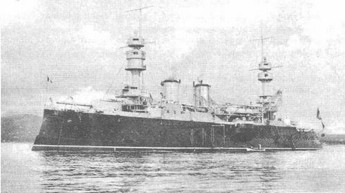 На Средиземном море. 1906-1907 гг.
