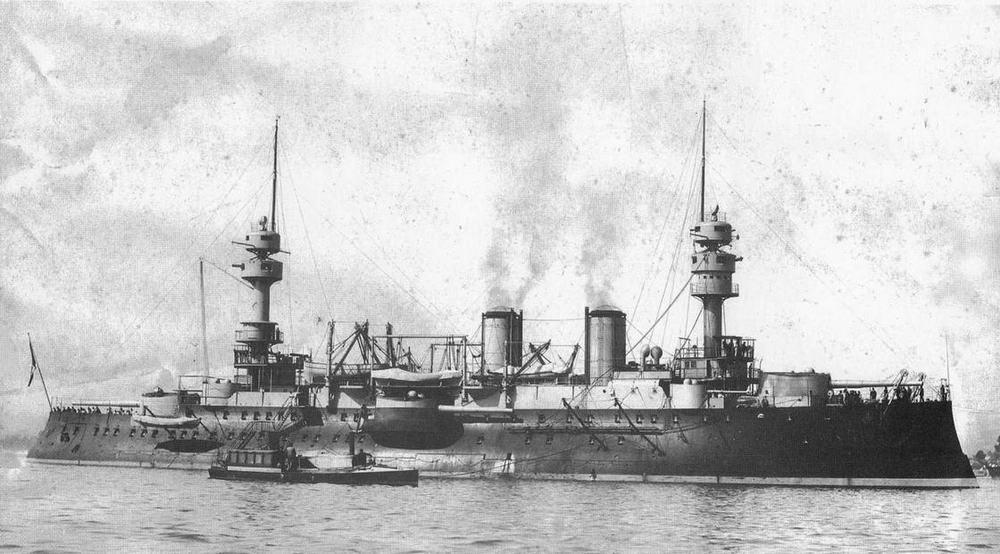 """""""Жорегибери """" после вступления в строй. 1897 г."""