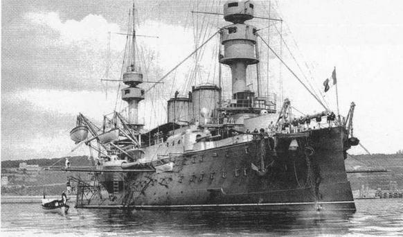 На рейде Бреста. 1904-1905 гг.