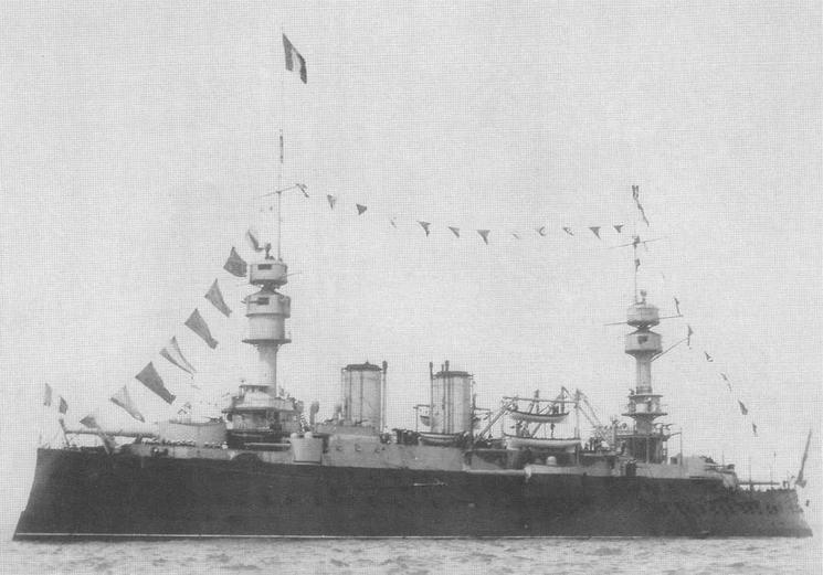 На Спитхэдском рейде в августе 1905 г.