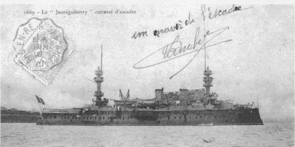 На рейдах Тулонаи Бреста. 1905 г.