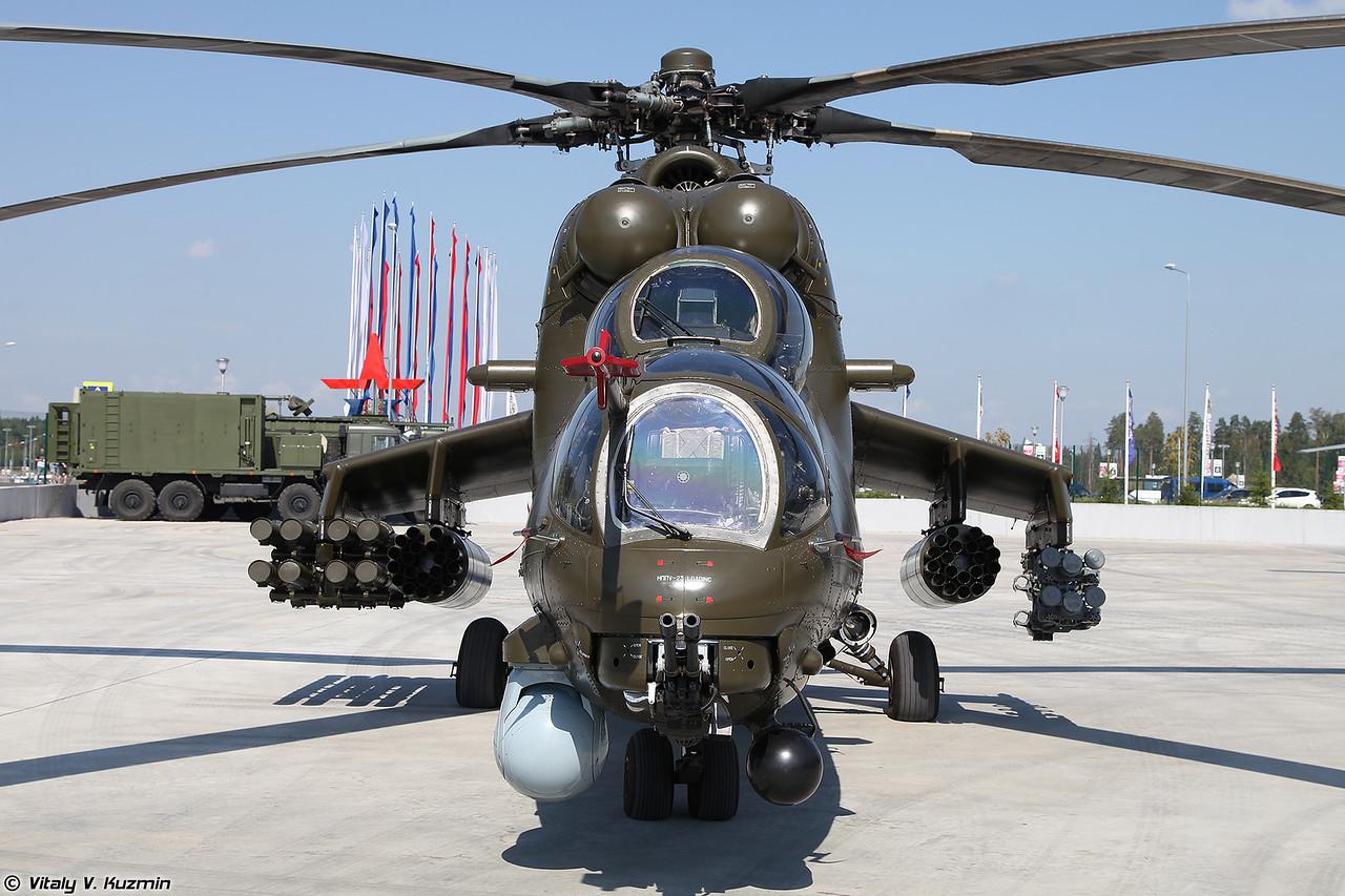 Вооружение боевого вертолета Ми-35М (фото - Виталий Кузьмин, https://www.vitalykuzmin.net)