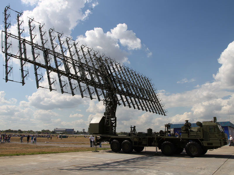 Метровый модуль РЛС РЛМ-М комплекса РЛС 55Ж6МЕ