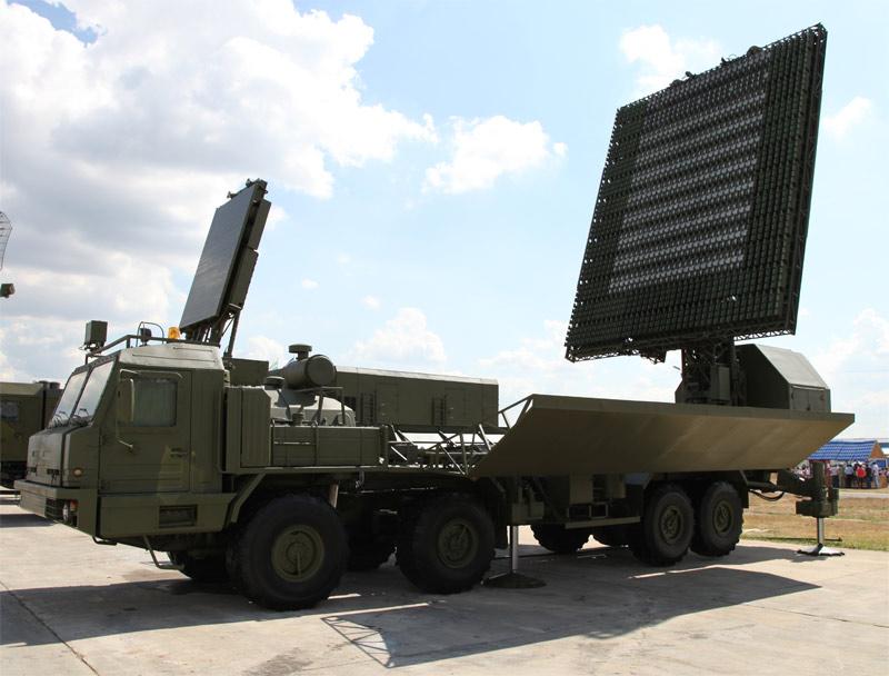 Дециметровый модуль РЛС РЛМ-Д комплекса РЛС 55Ж6МЕ